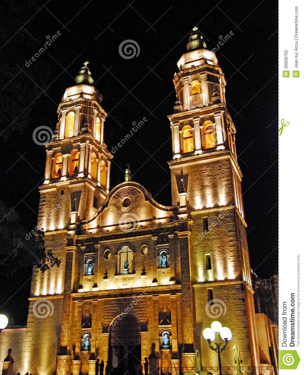 Cathedral of the Immaculate Conception in Campeche