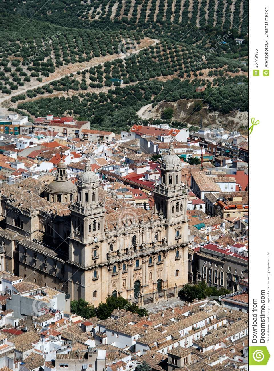 Cathedral, Jaen, Spain.
