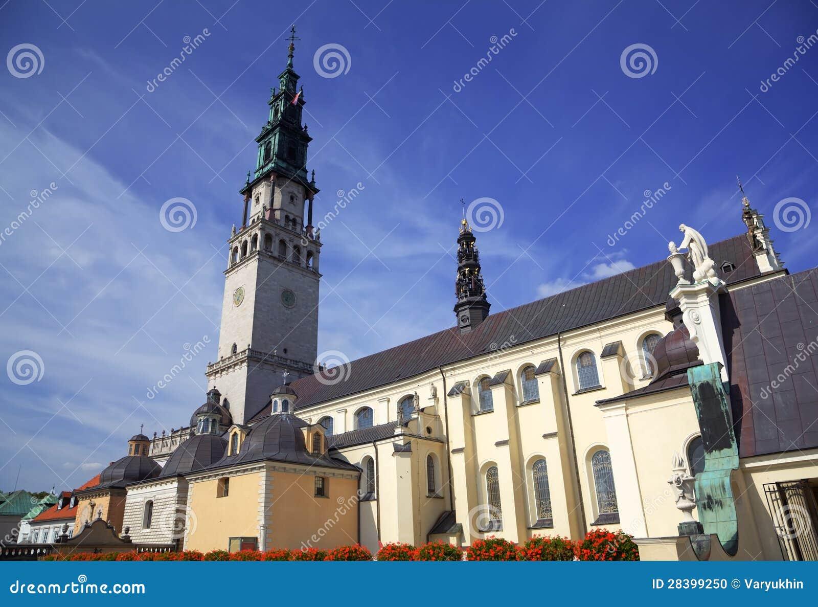 Cathedral Of Jasna Gora Monastery. Czestochowa, Poland ...
