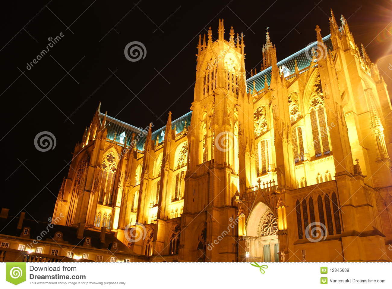 Cathedral of metz france royalty free stock images for Exclusive metz