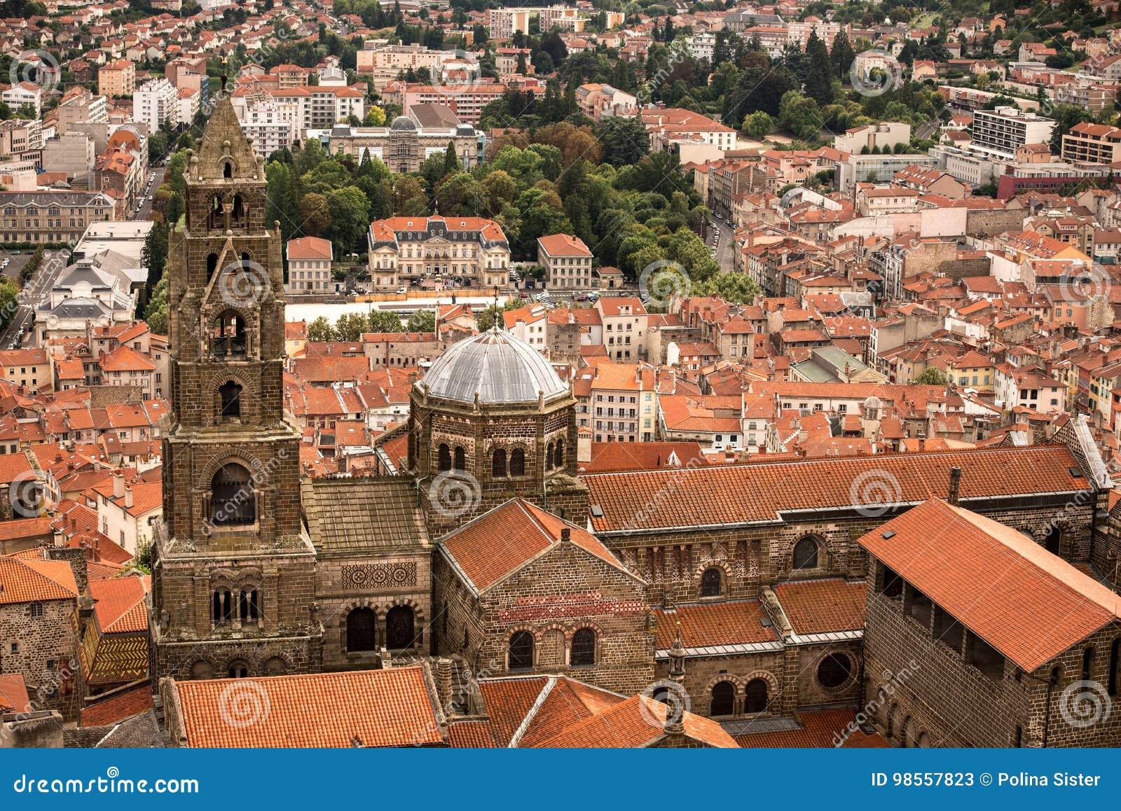 Architecte Le Puy En Velay cathedral of of notre-dame du puy. le puy en velay. haute