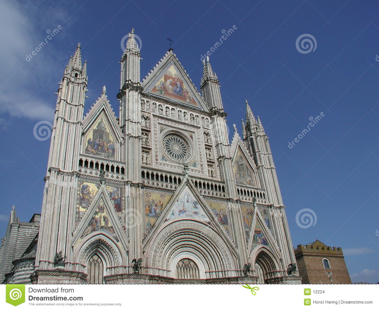 Cathedral in Orvieto