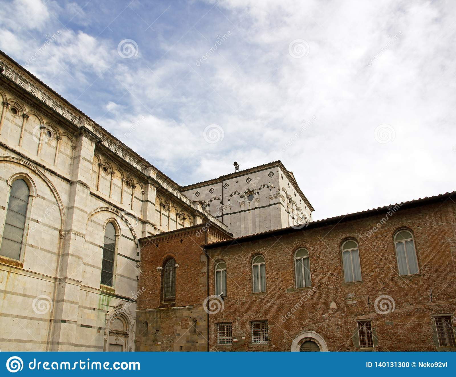 Cathedral Saint-Martin de Lucques Lucca Tuscany Italy