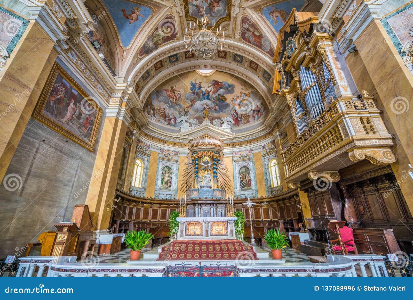 Cathedral Of Santa Maria Assunta. Amelia, Province Of ...