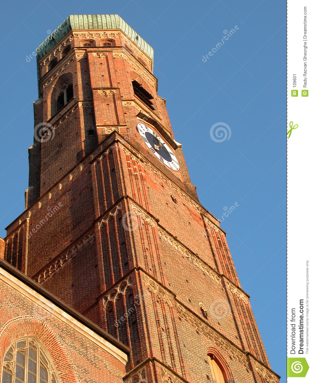 Download Cathedral tower stock image. Image of church, tall, architecture - 109601