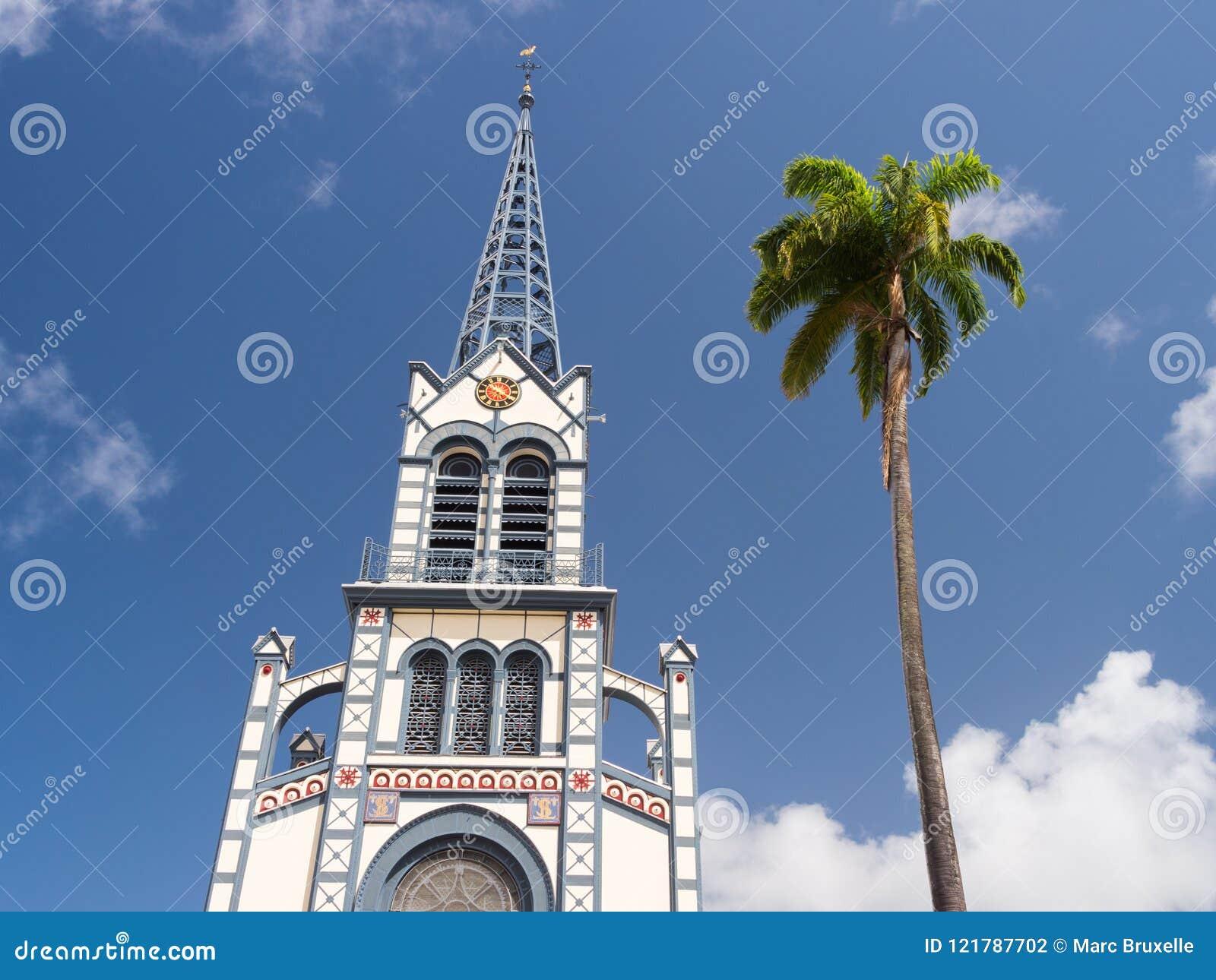 Cathedrale Saint Louis i Martinique, västra Indies