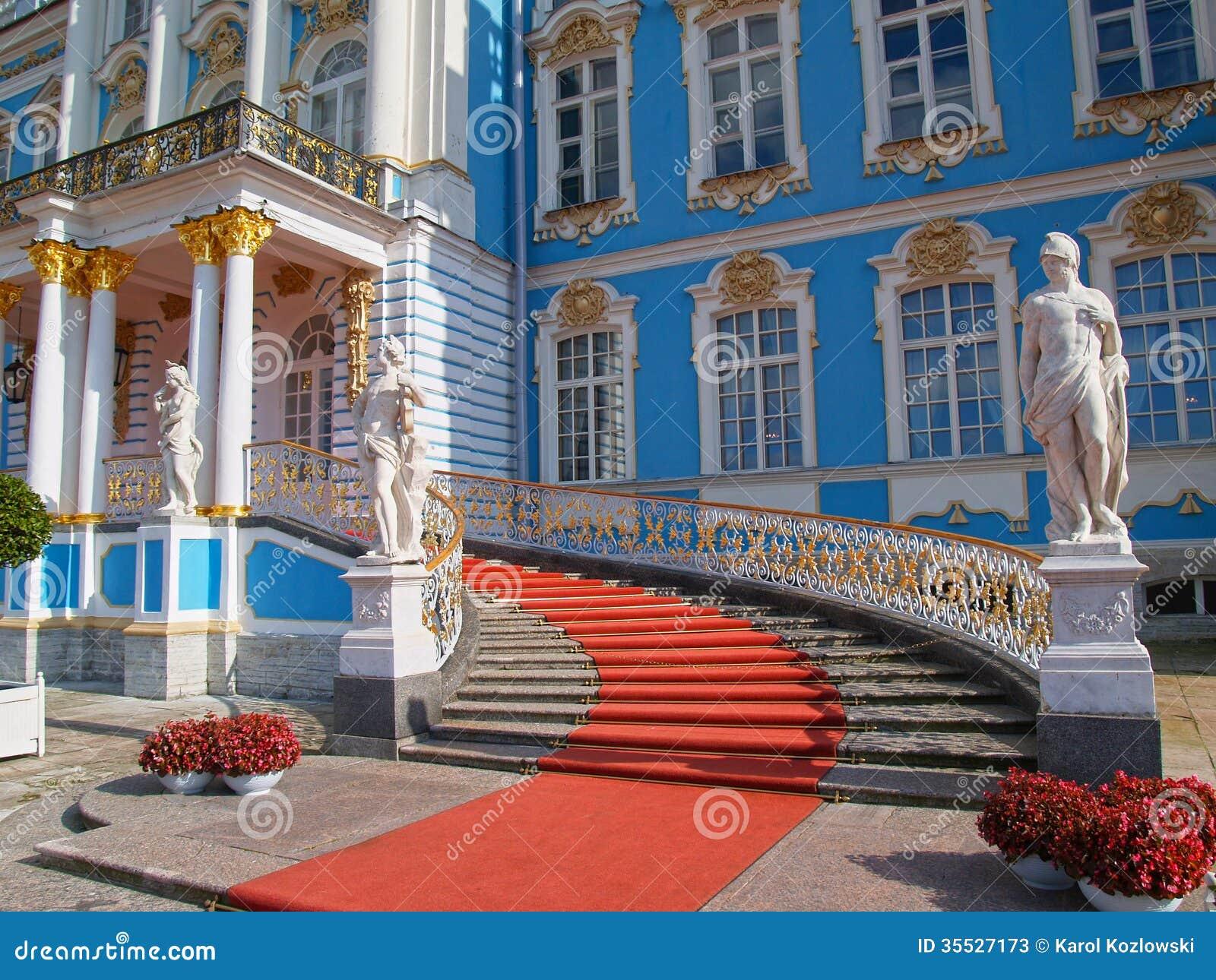 Catherine Palace en St Petersburg