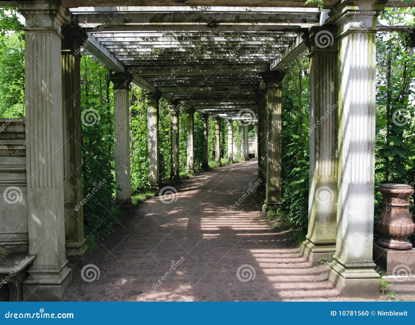 Catherine Park Gardens, Tsarskoye Selo (Pushkin)