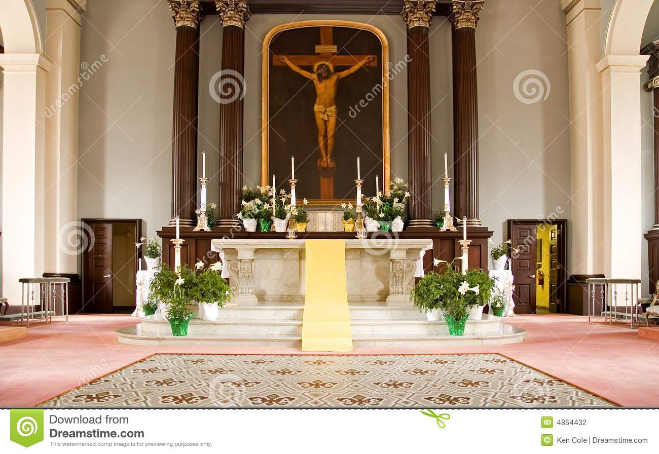 catholic church altar stock photography image 4864432 candle clipart to download candle clipart black and white