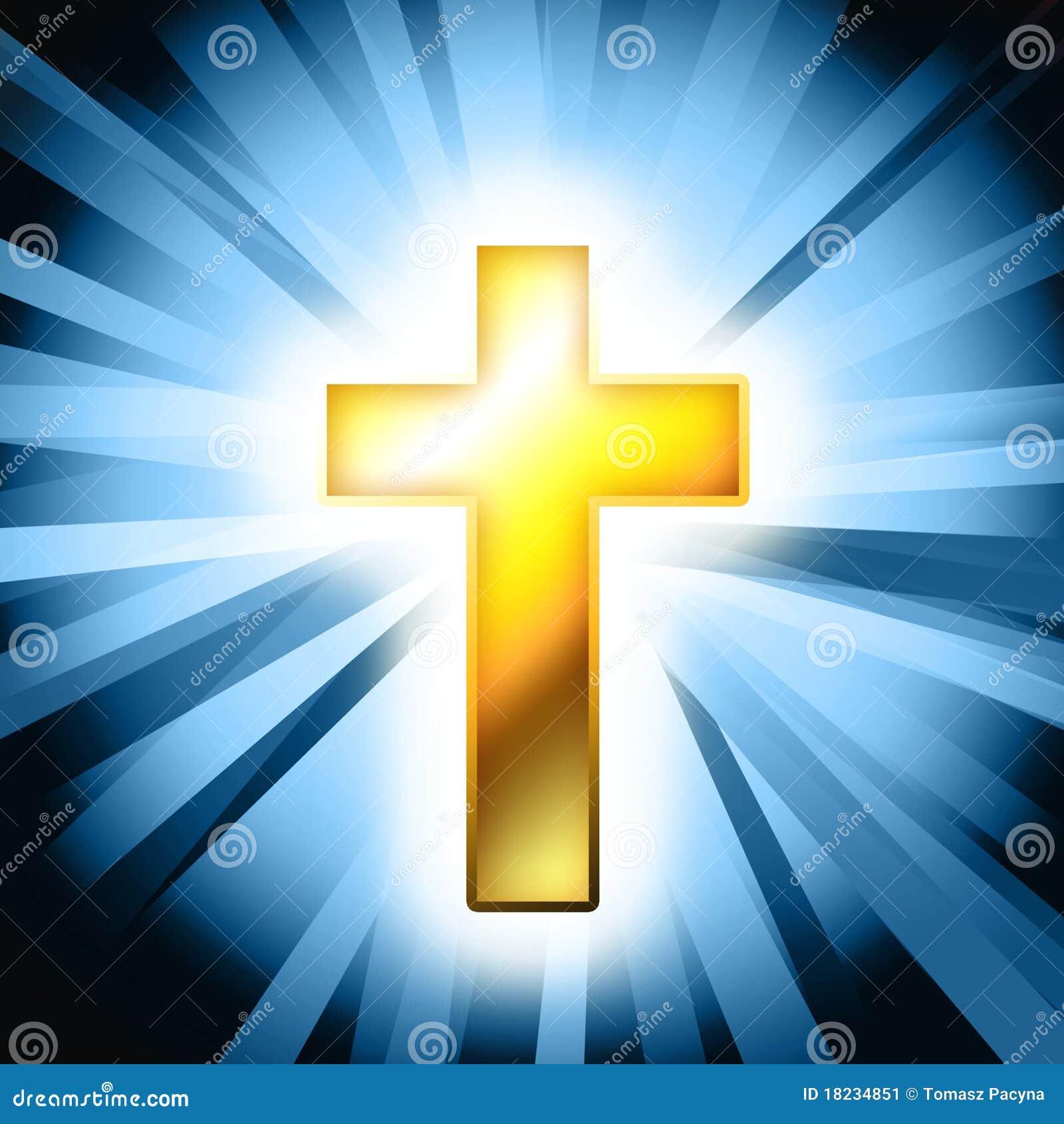 catholic cross background stock image