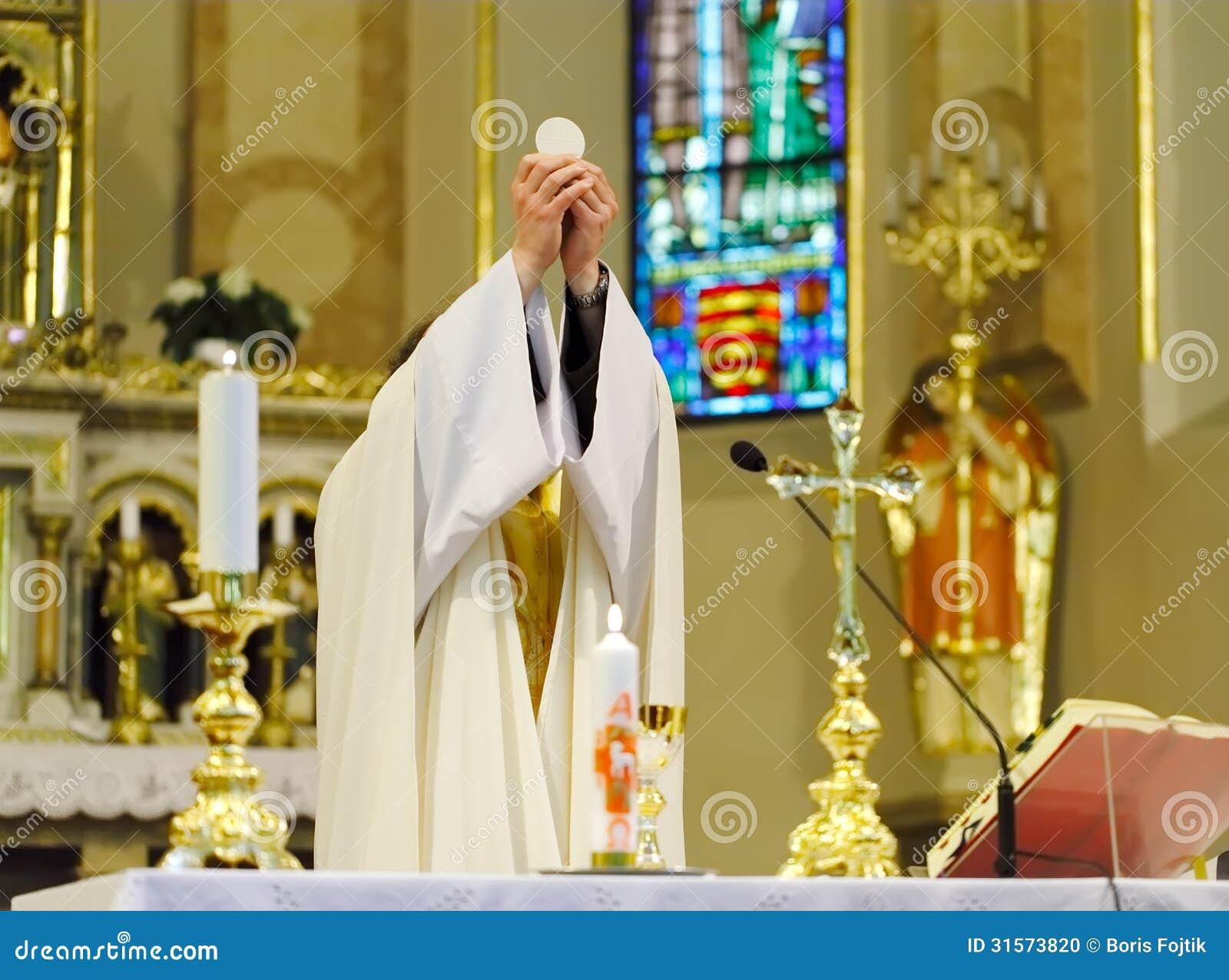 Catholic Mass Stock Photo Image 31573820