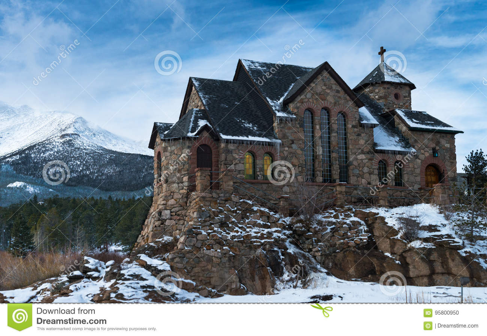 Catholic mountain church