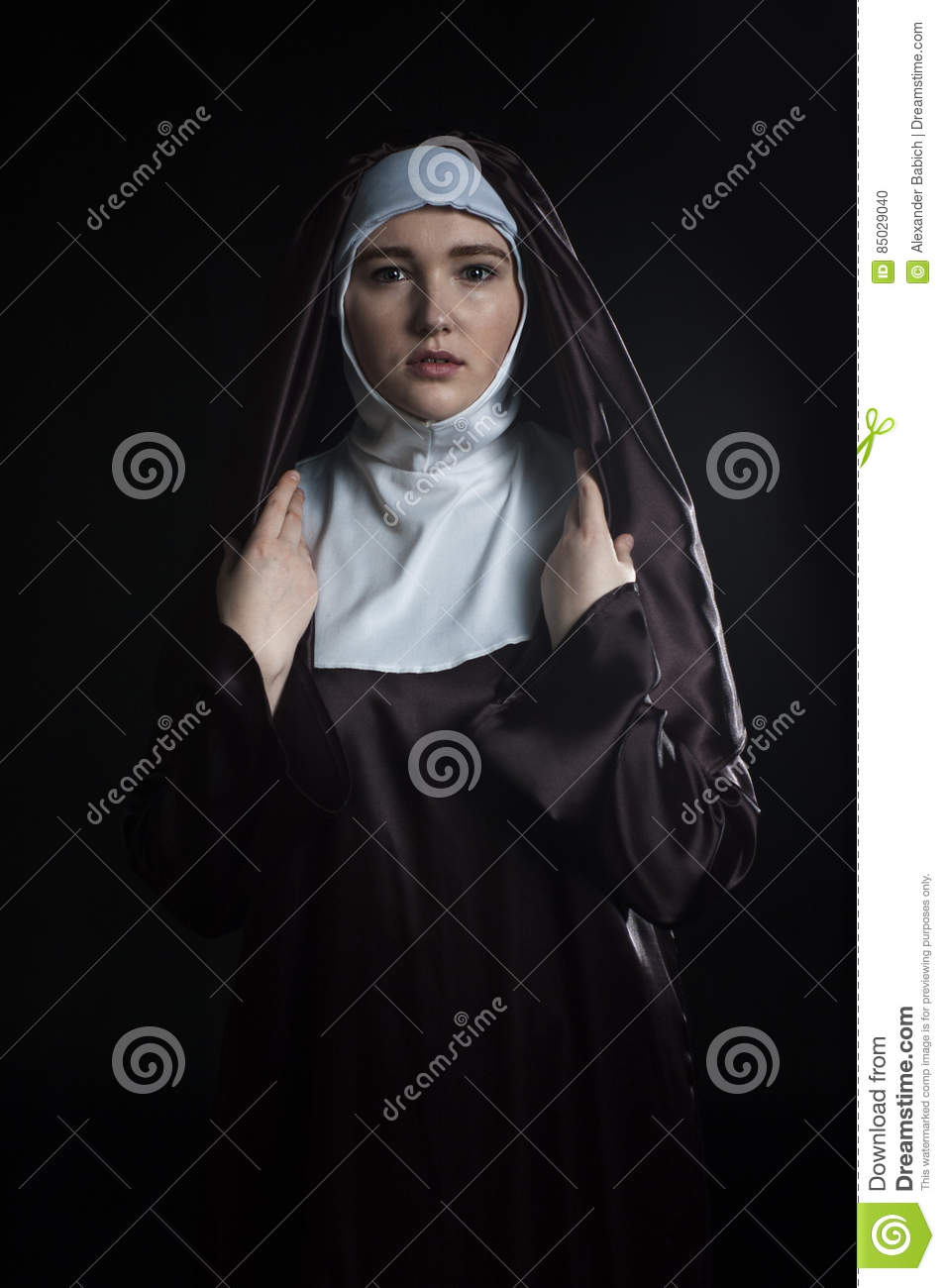 Nuns young naked girls