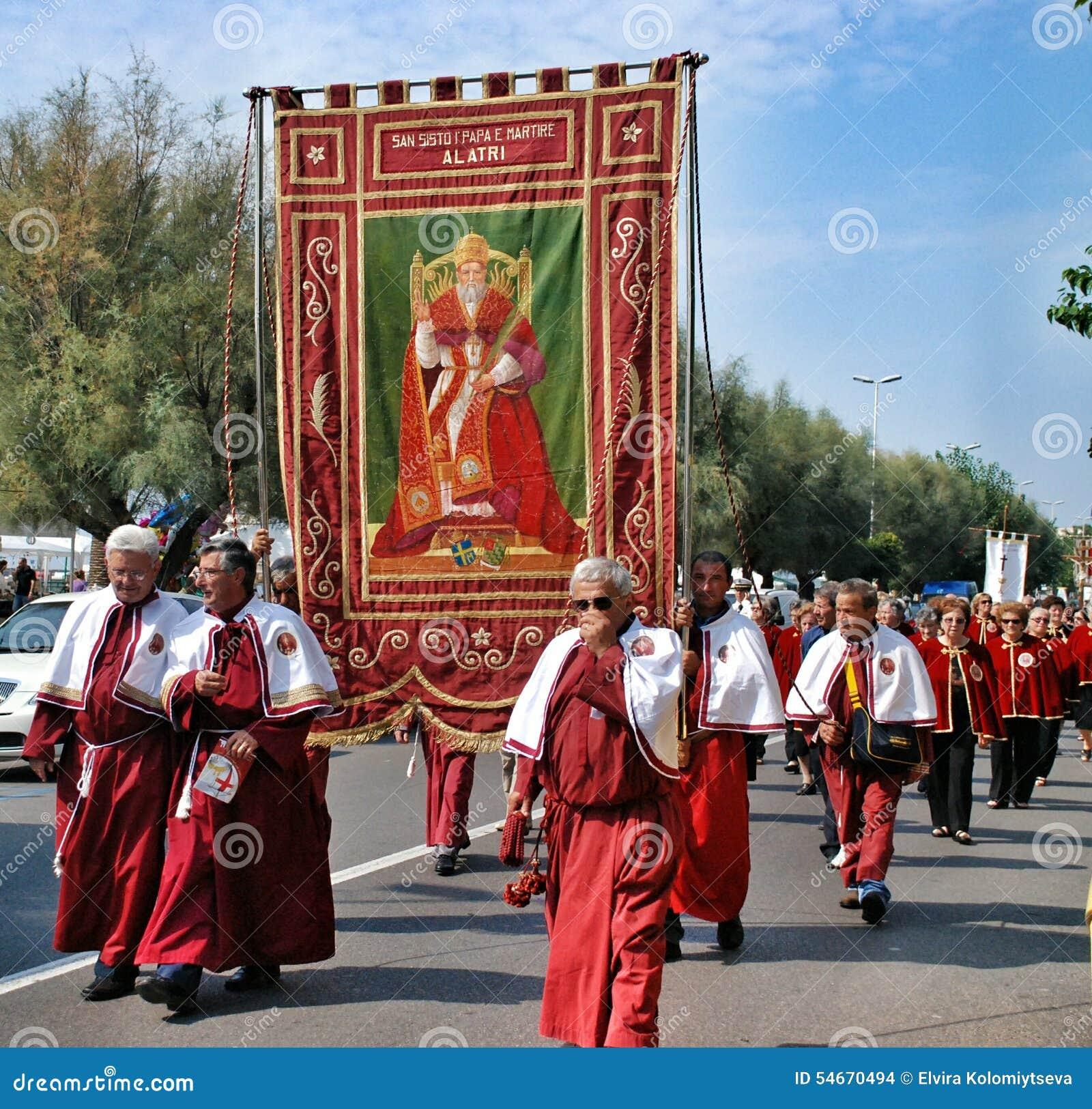 Catholic Religious Festival On September 27 In Civitavecchia ...