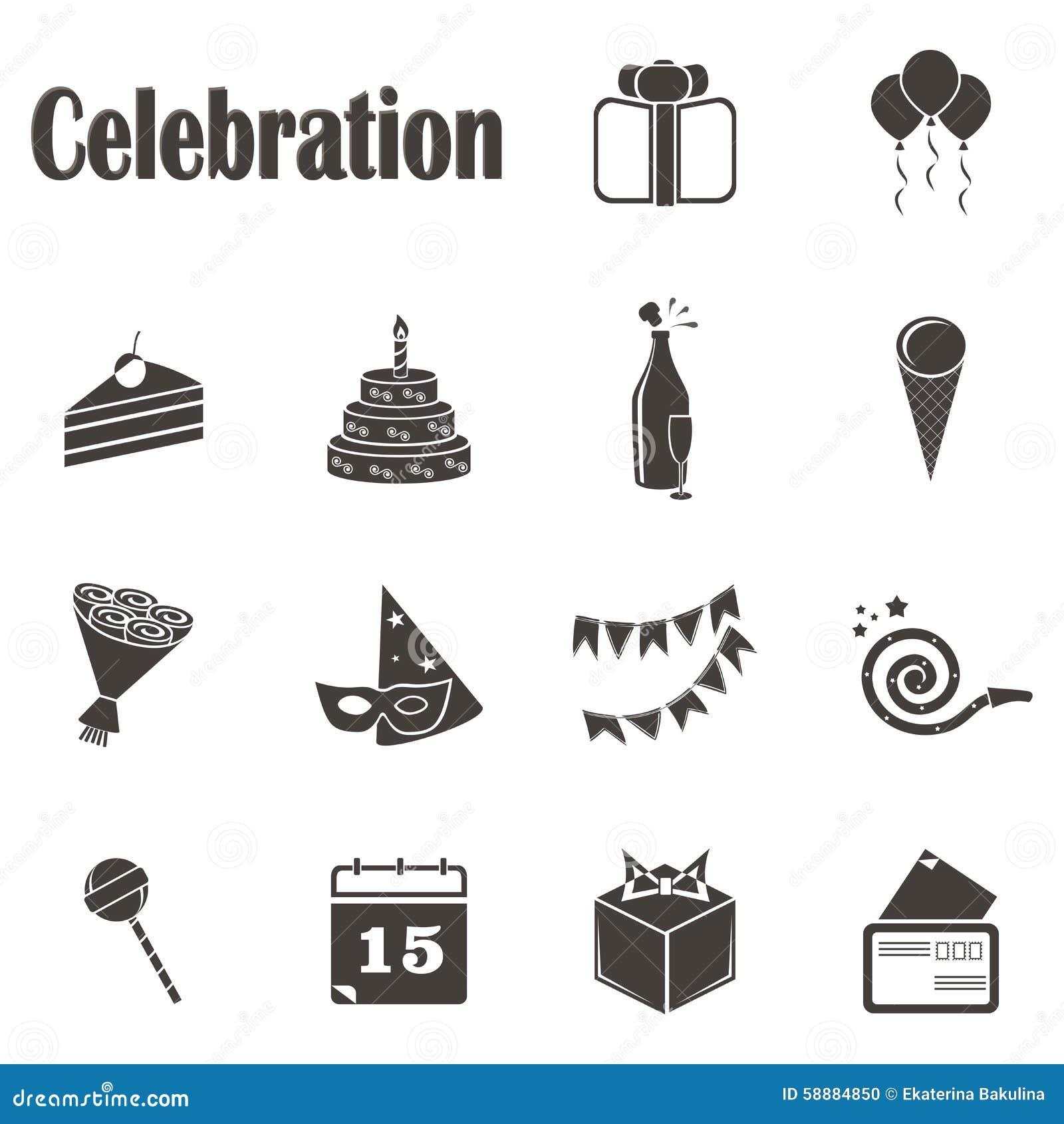 Catorce celebraciones monocromáticas de los iconos