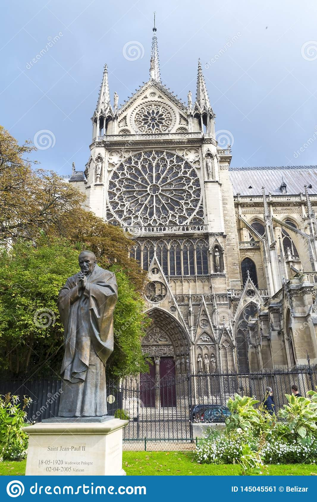 Cattedrale del Notre Dame a Parigi