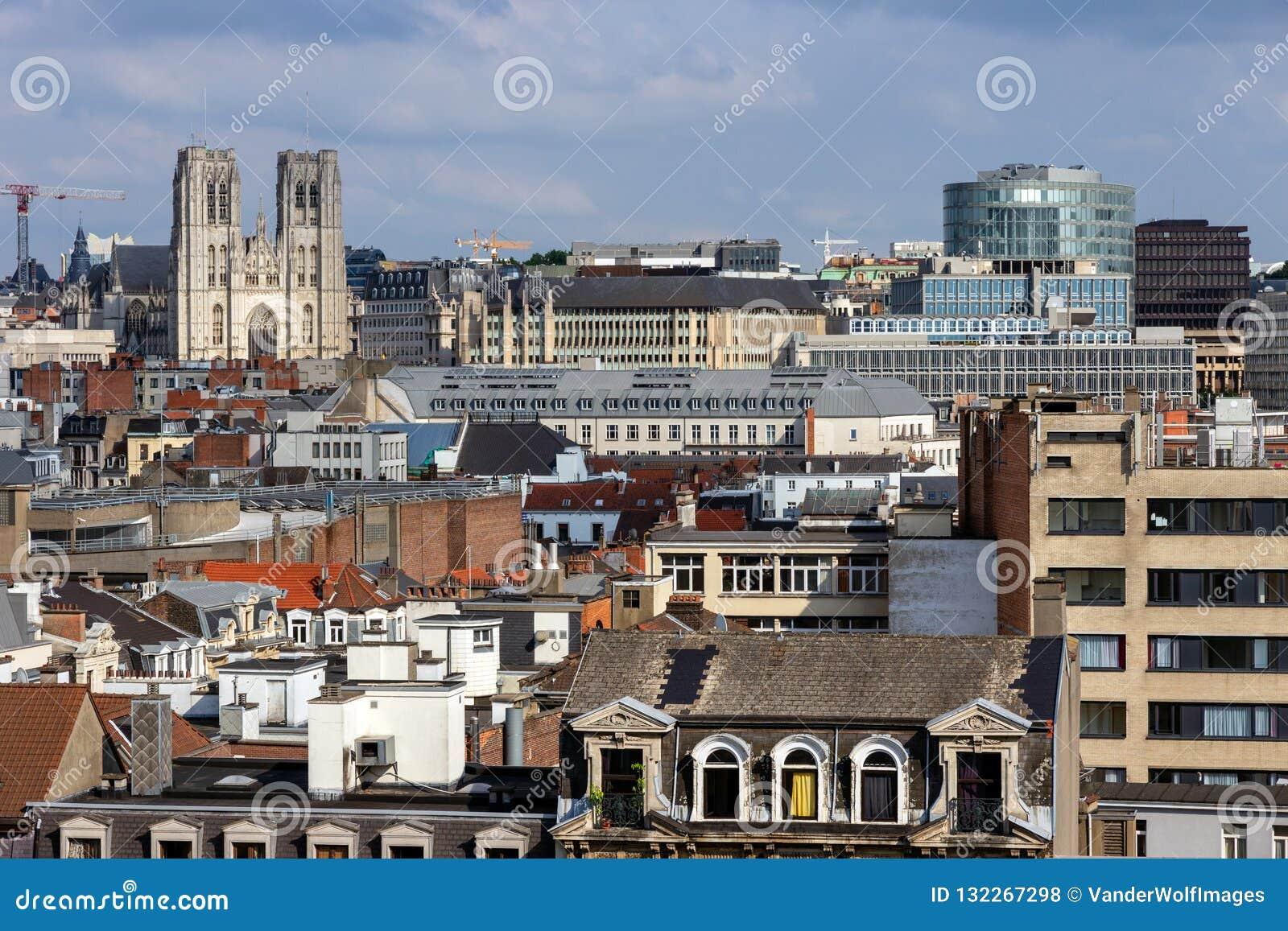 Cattedrale dell orizzonte della st e di St Michael Gudula Bruxelles