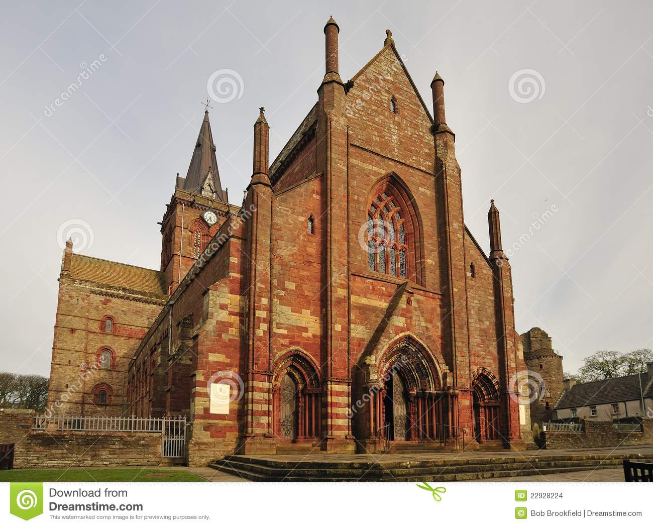 Cattedrale della st Magnus, Kirkwall, isole dell Orkney