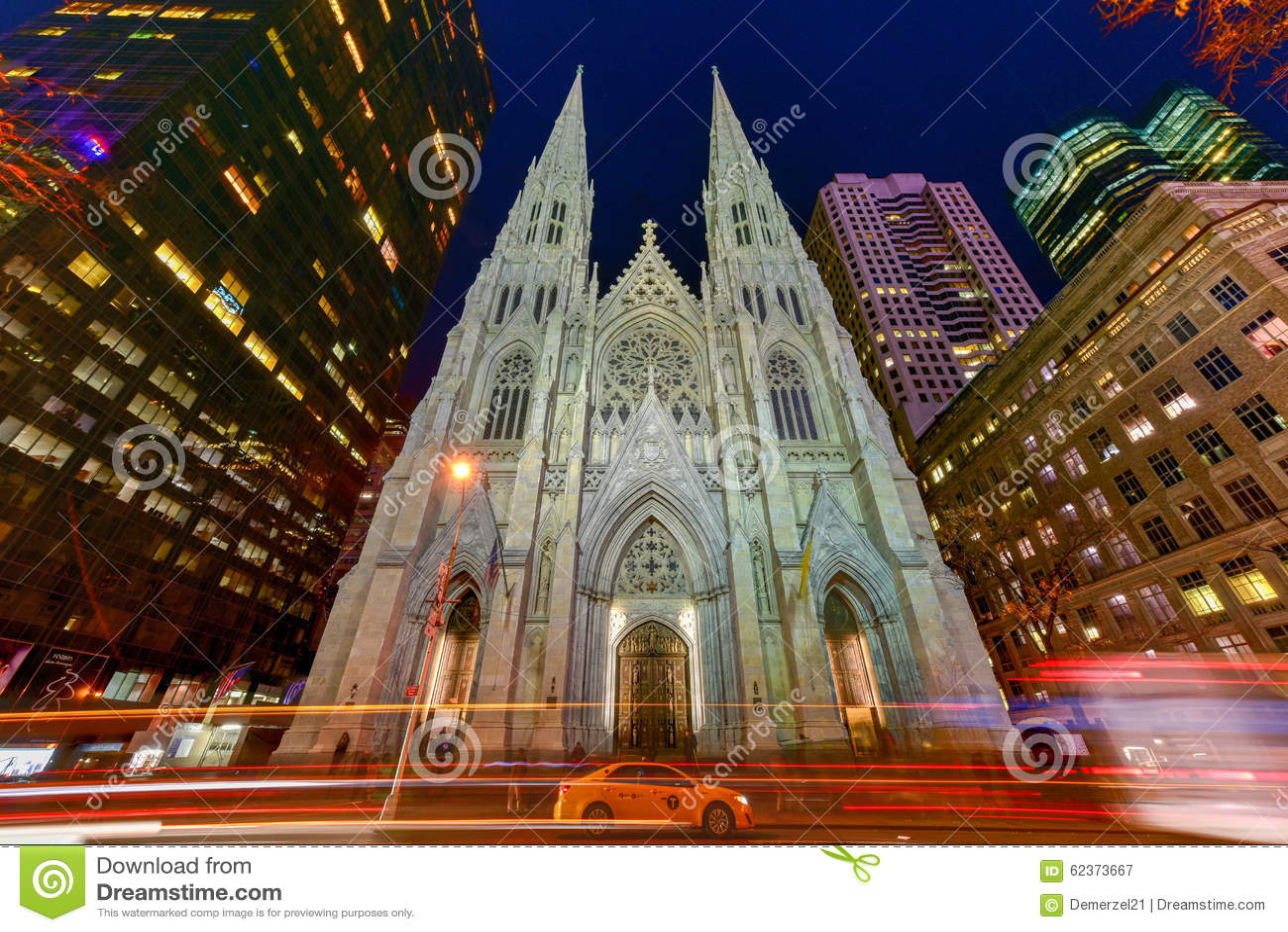 Cattedrale della st patrick a new york city fotografia - Immagini st patrick a colori ...