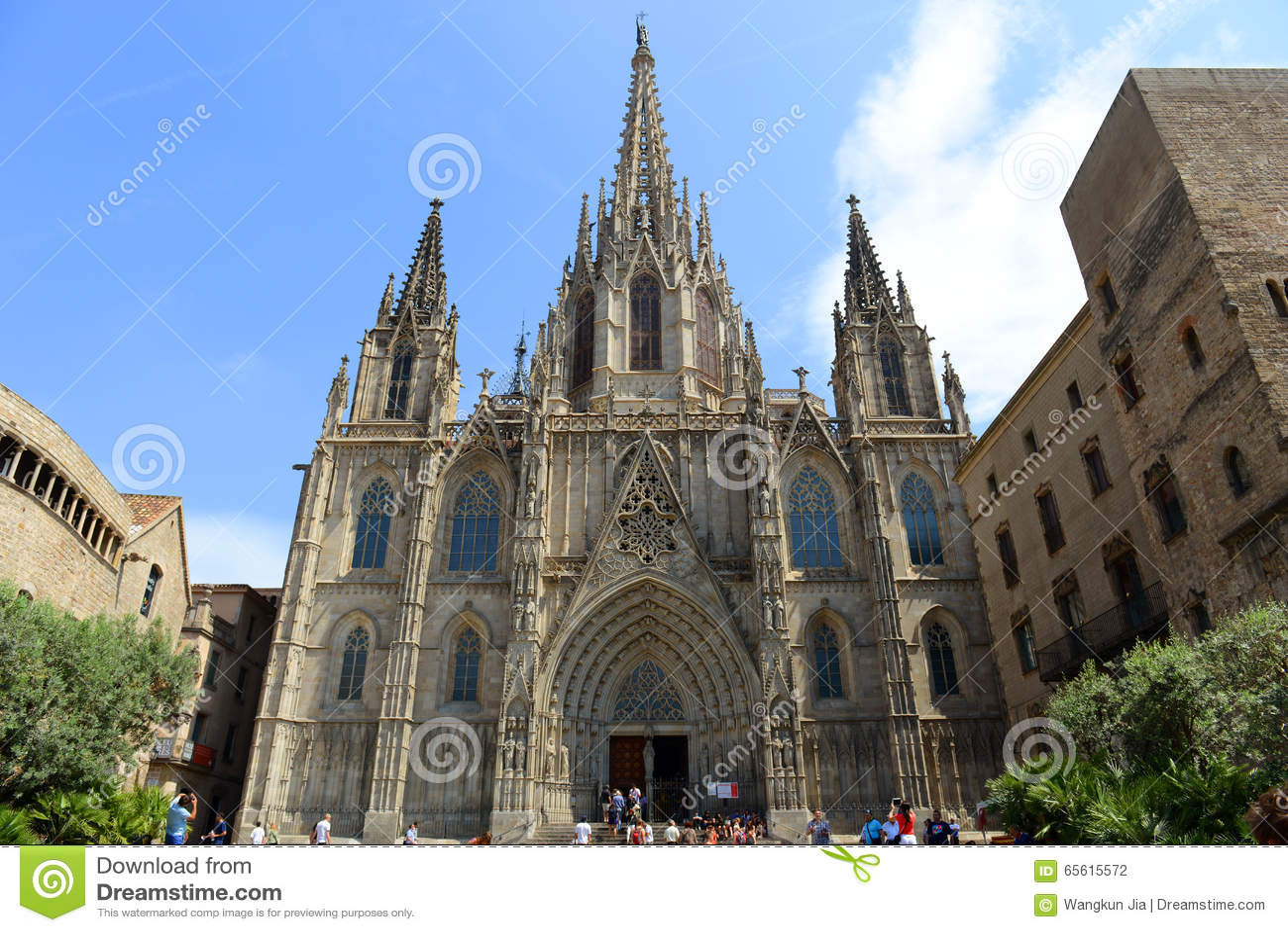 Cattedrale di barcellona citt vecchia barcellona spagna for Piscine w barcelone