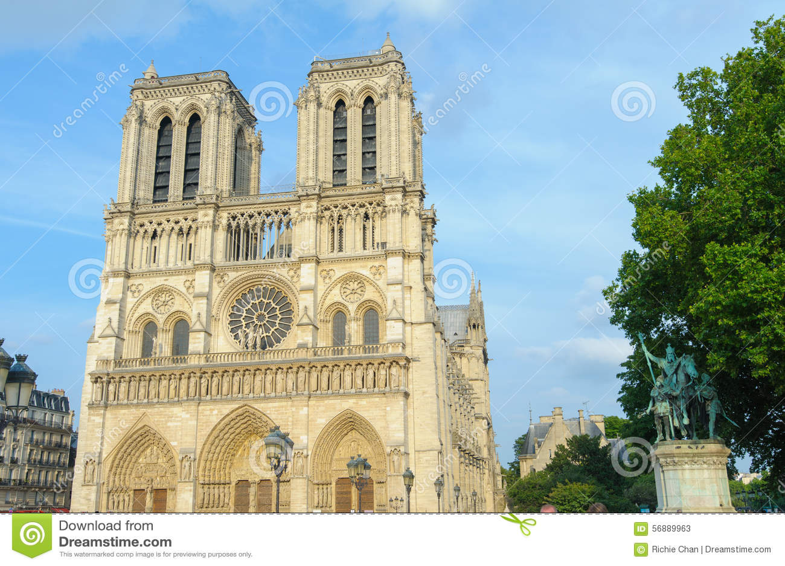 Cattedrale di Notre Dame a Parigi