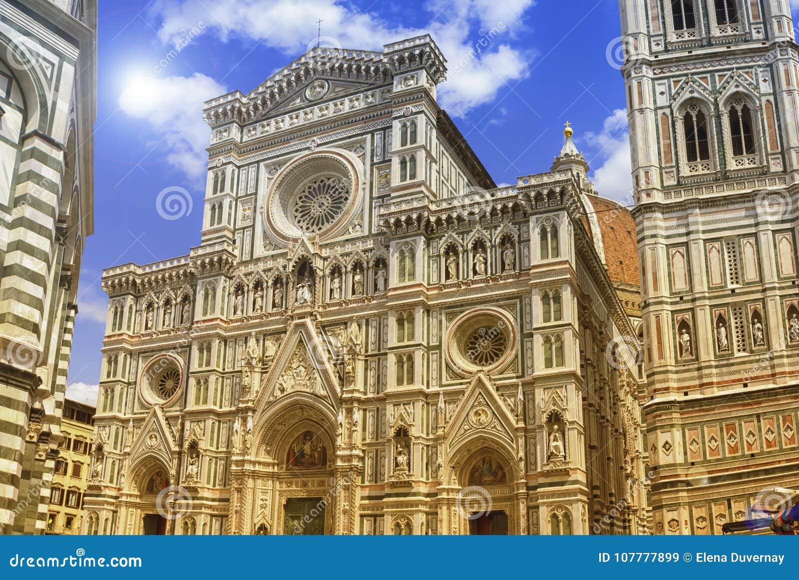 Cattedrale di Santa Maria del Fiore eller Il-Duomodi Firenze, Italia
