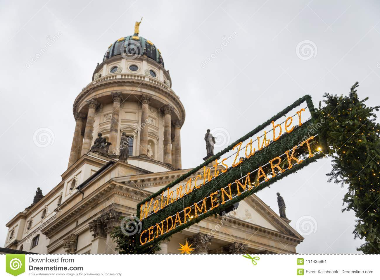 Cattedrale francese in Gendarmenmarkt, Berlino, Germania