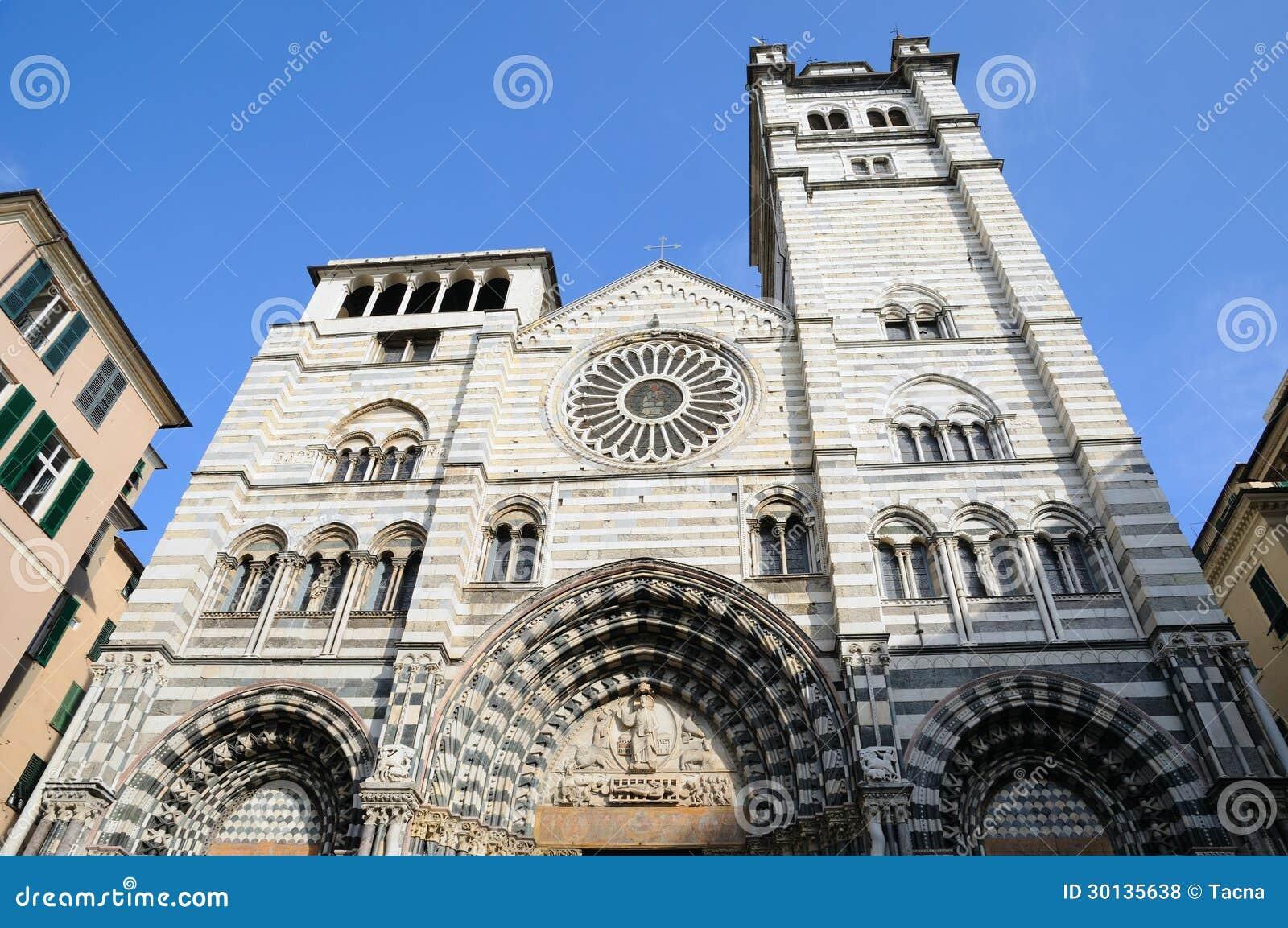 Cattedrale di Genova, Italia