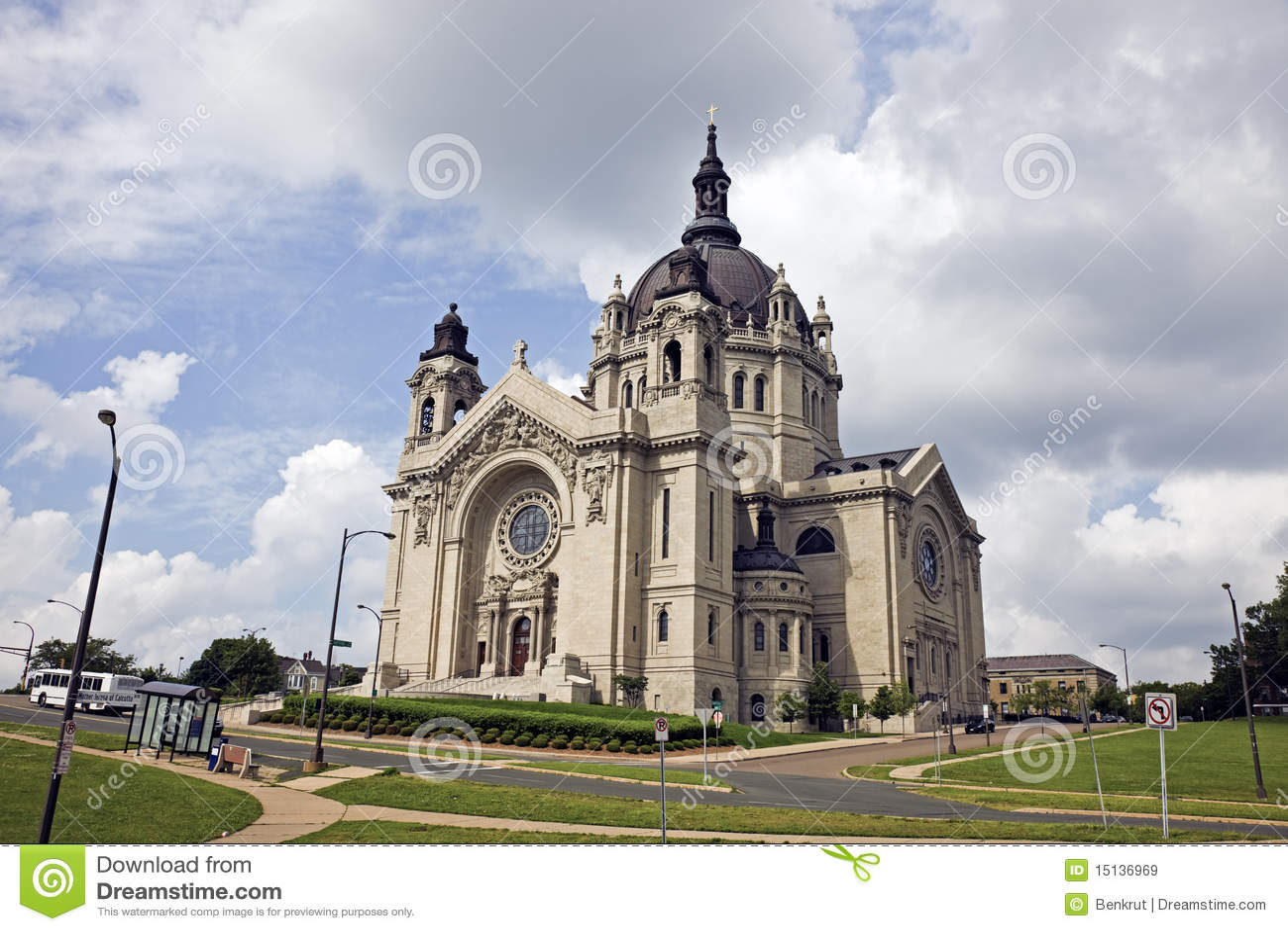 Cattedrale in st Paul, Minnesota