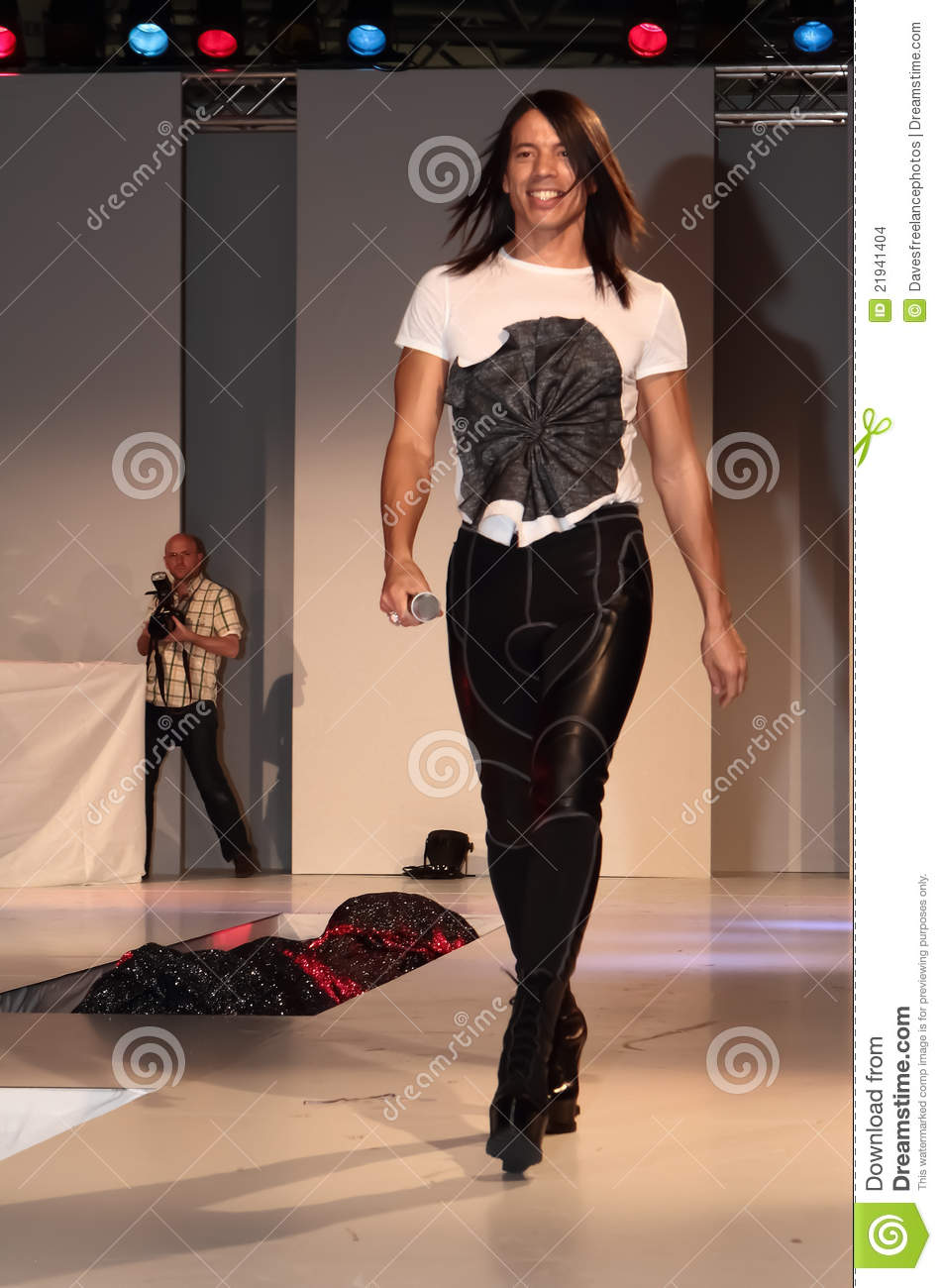 Catwalk Trainer Jorge Gonzales Editorial Stock Image
