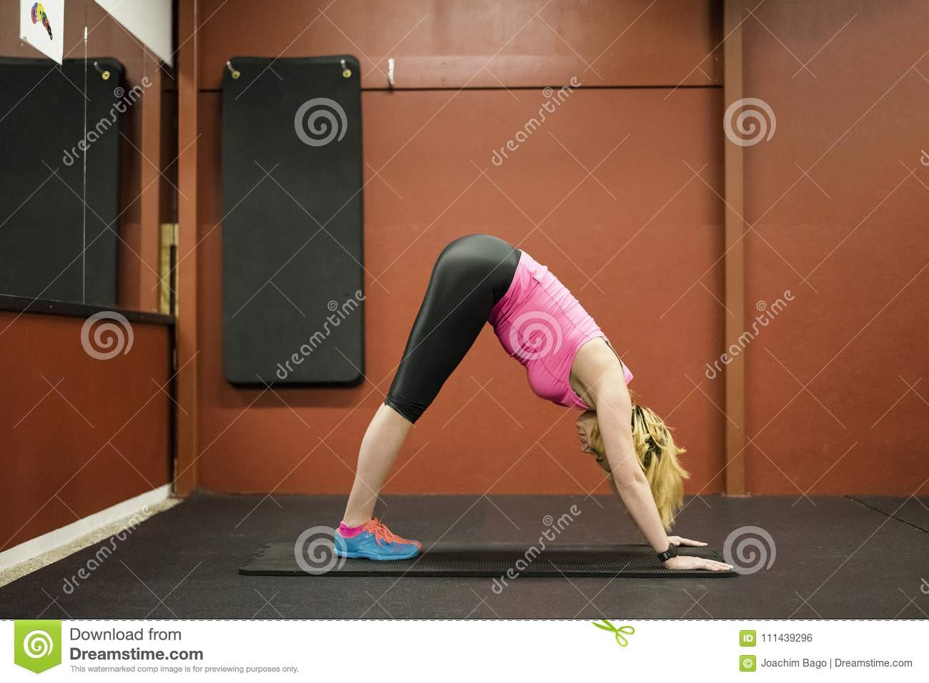 Body Of Fit Teen Girl stock image. Image of toned