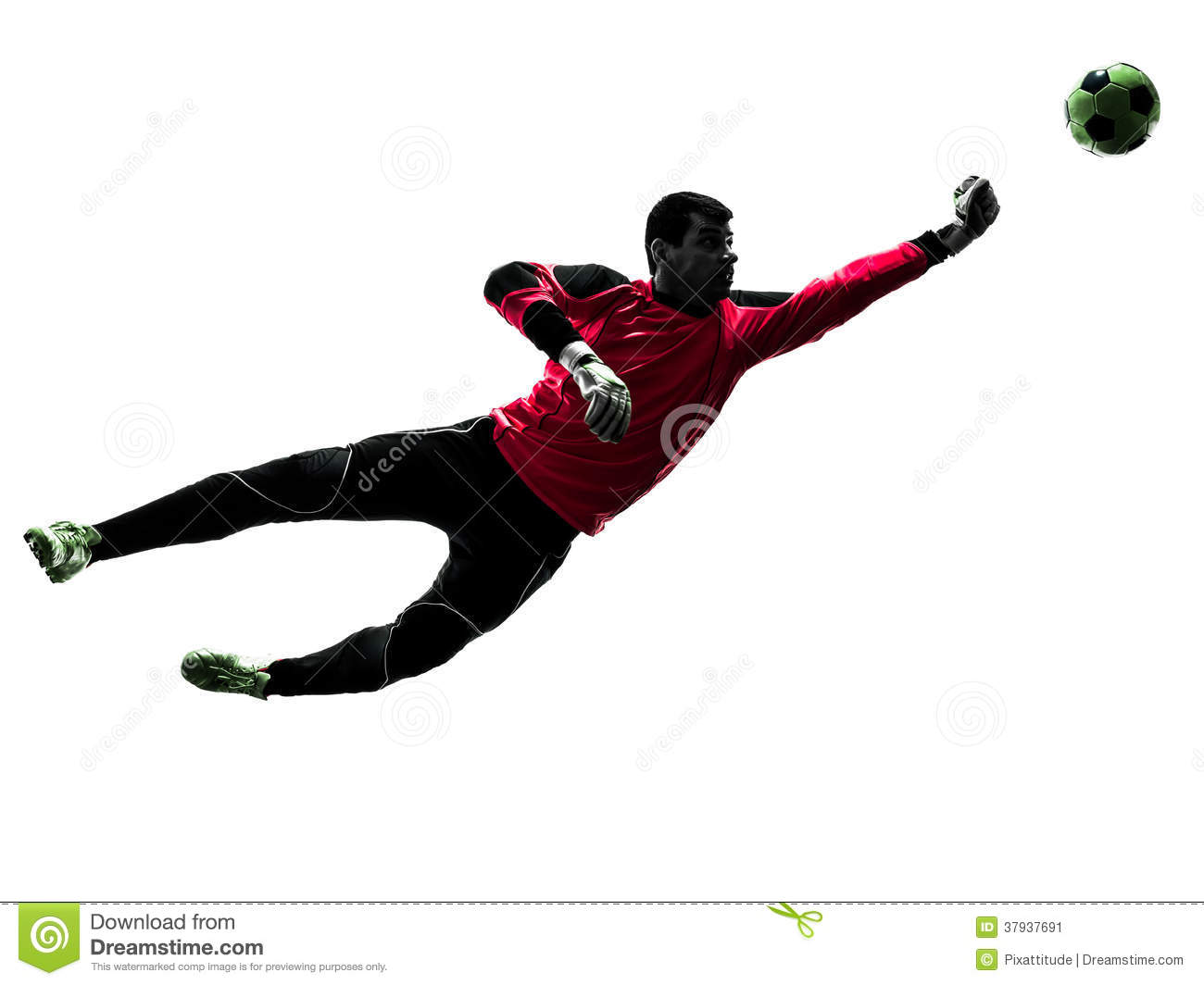 caucasian soccer player goalkeeper man punching ball soccer player clipart free free football player clipart black and white
