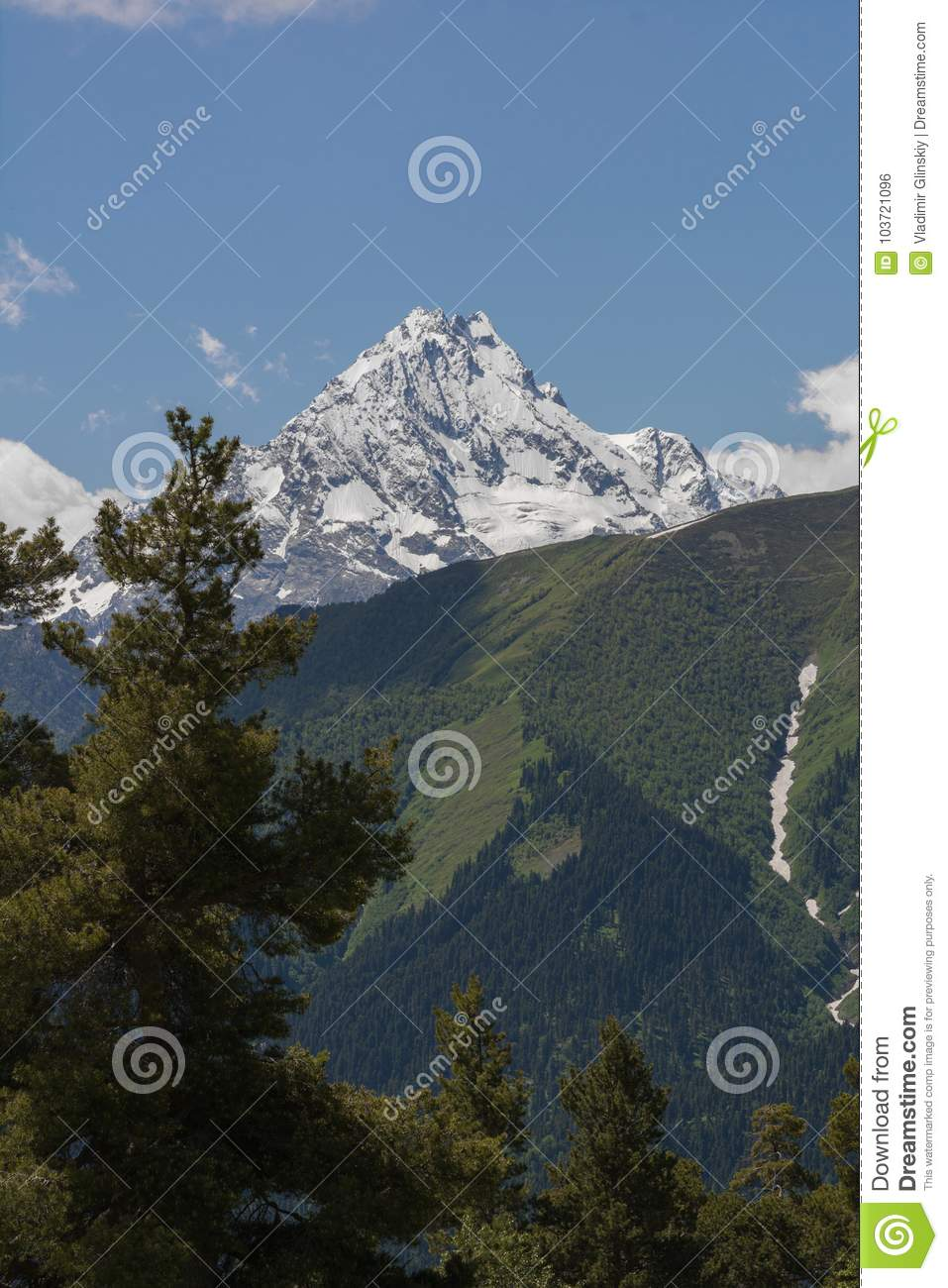 The Caucasus Mountains are a mountain system in West Asia between the Black Sea and the Caspian Sea in the Caucasus region.