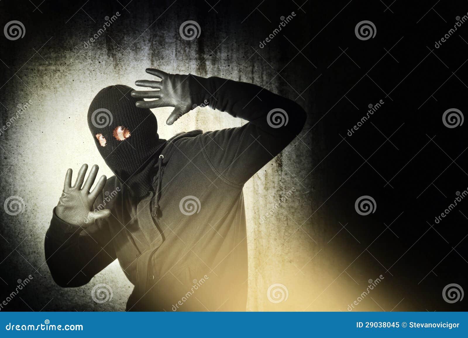 Caught burglar