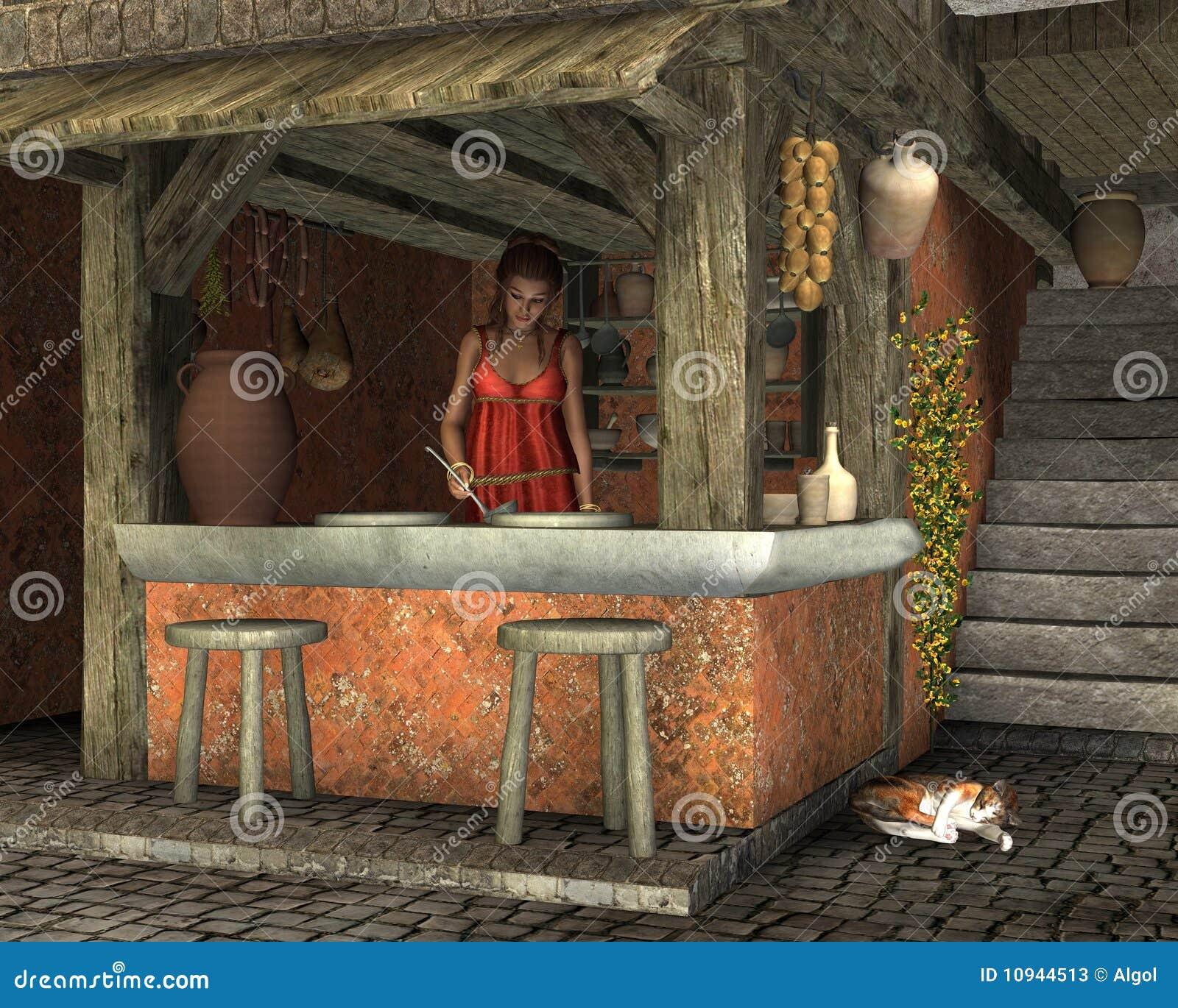Caupona romain