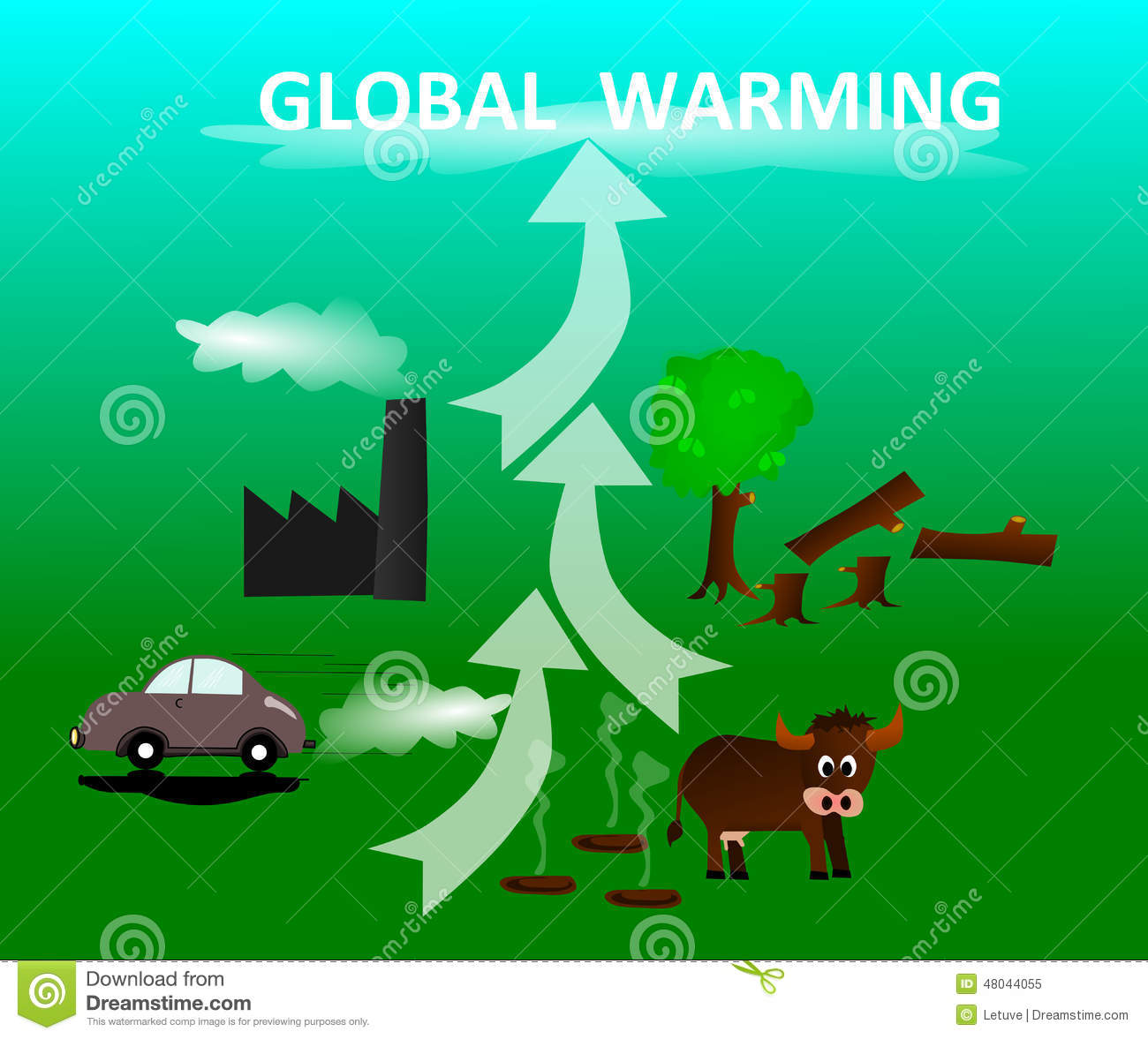 global warming caused by globalisation The greenhouse effect occurs when earth's atmosphere traps solar radiation because of the presence of certain gases, which resulting in global warming.