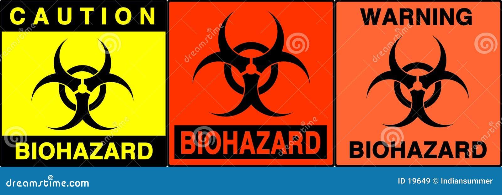 Caution/warning signs set, II