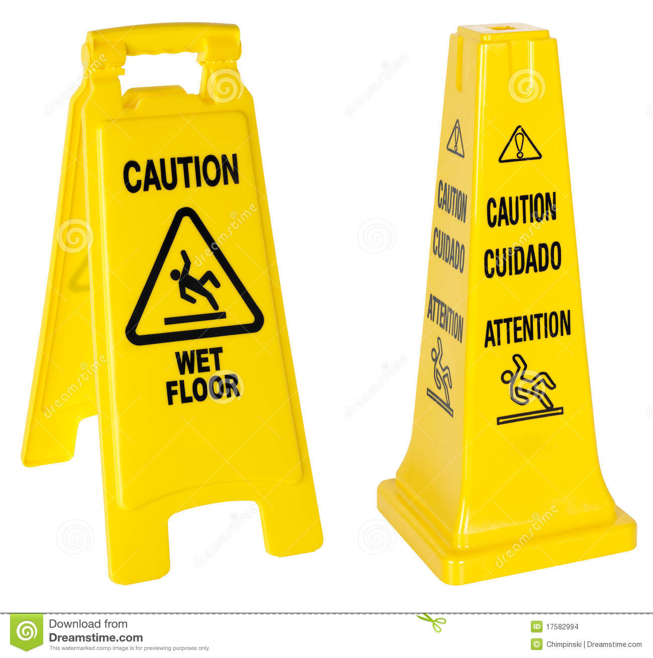 sign floor wet image vector stock shutterstock