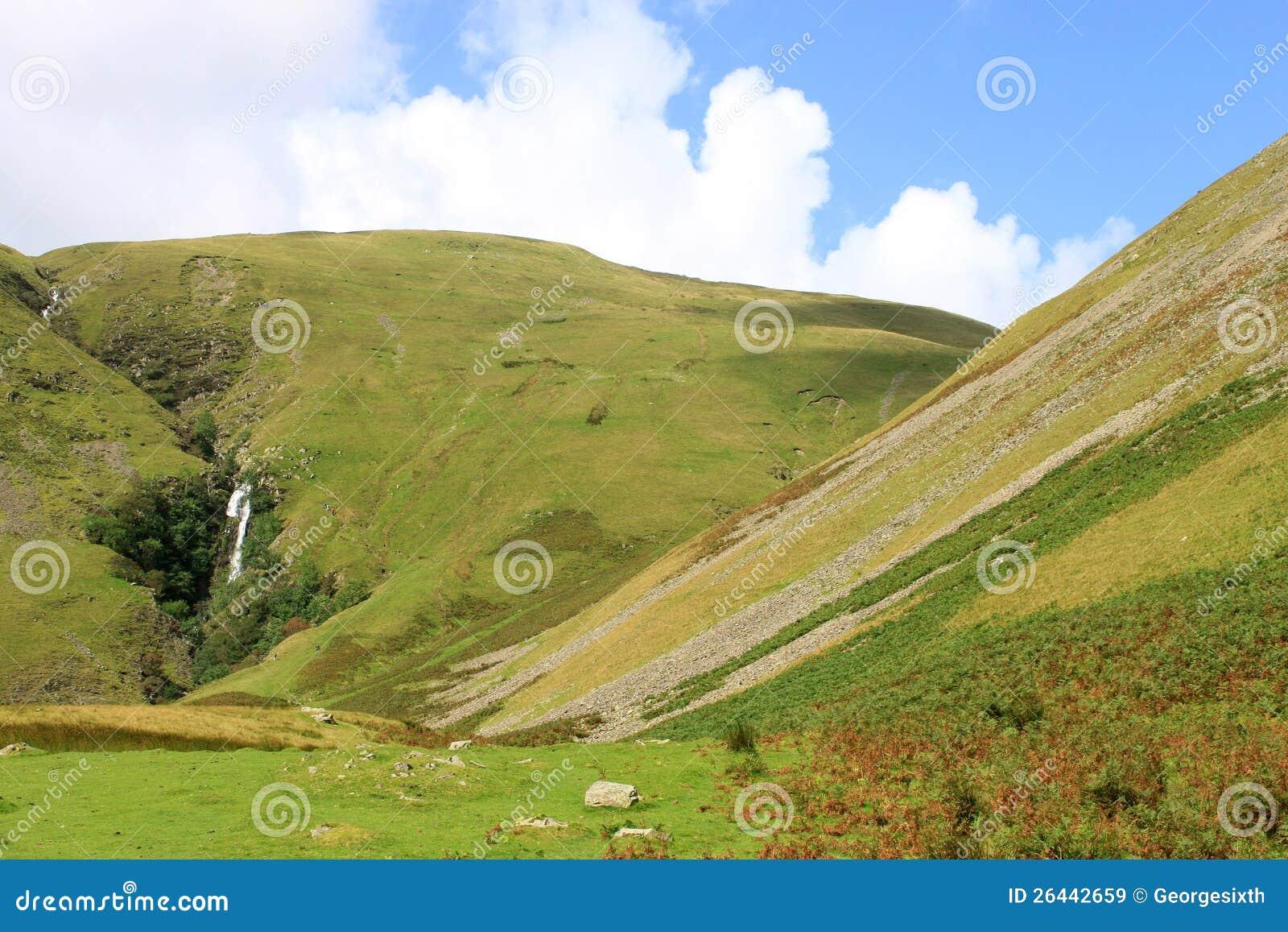 Sedbergh United Kingdom  city images : Cautley Spout waterfall near Sedbergh in Cumbria, United Kingdom ...