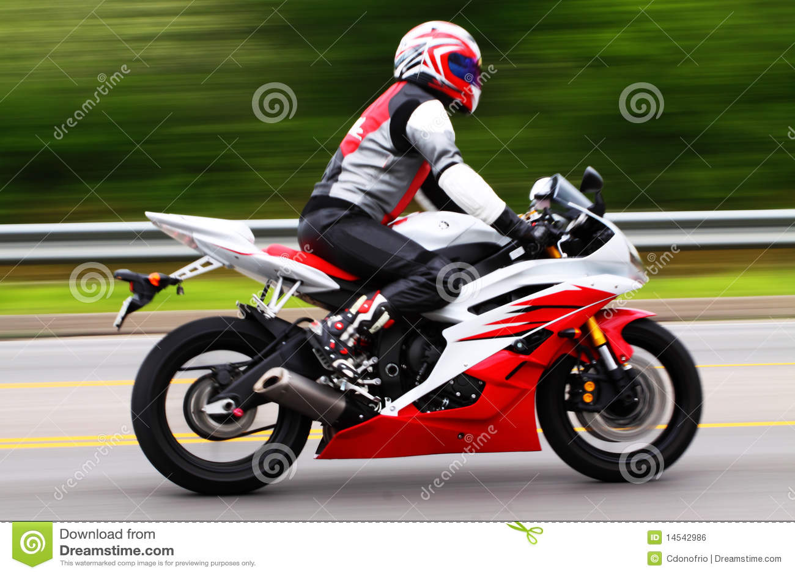 Cavaleiro da motocicleta