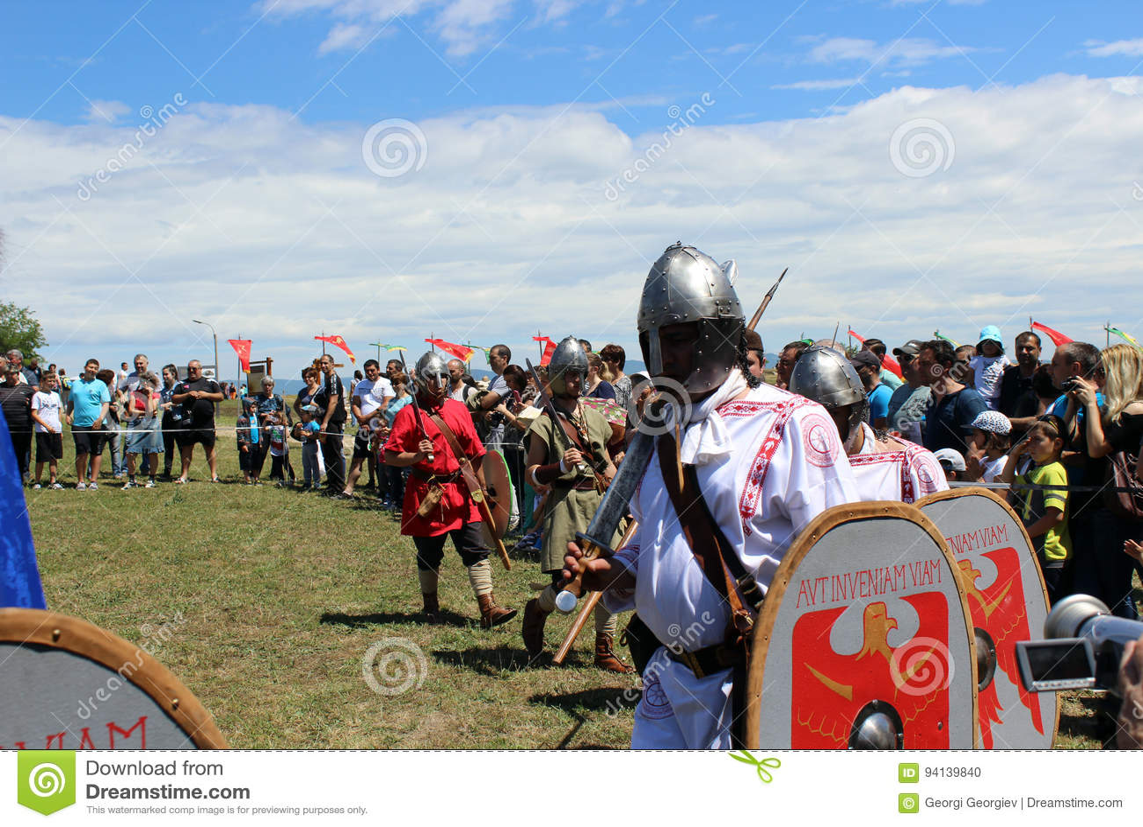 Cavaleiros na mesa redonda