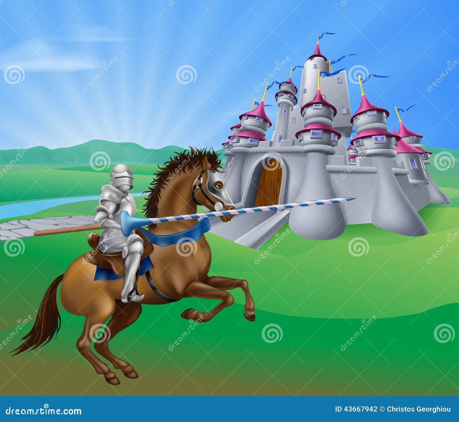 Cavaliere e castello
