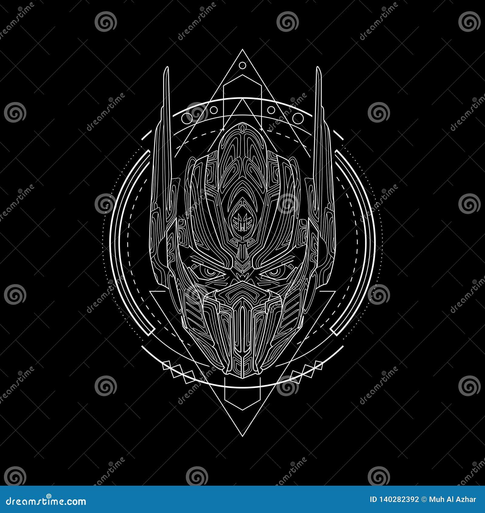 Cavaliere Geometry Style del ferro