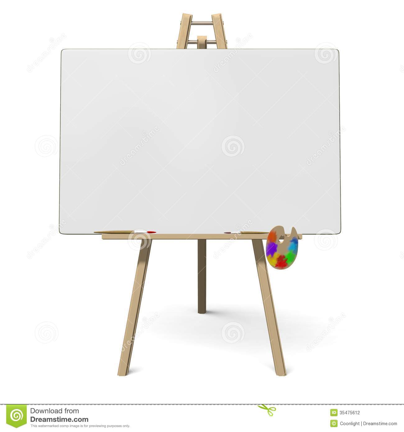 Artists Stand For Painting