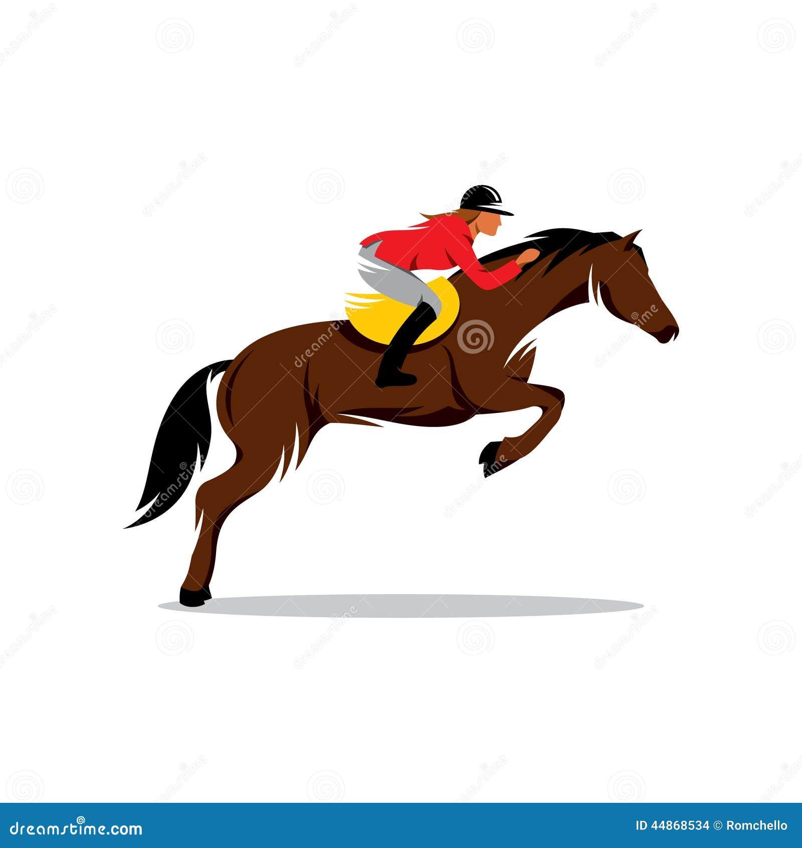 Cavallo al segno di salto