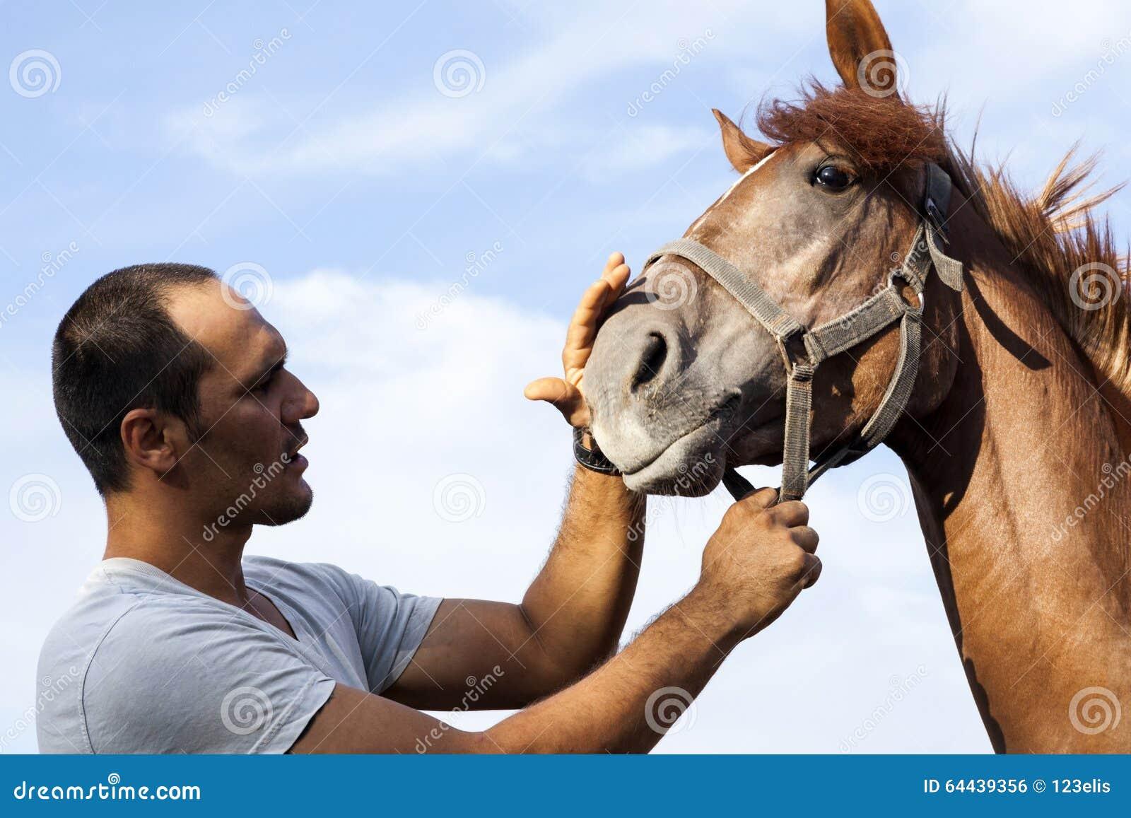 Cavalo e homem