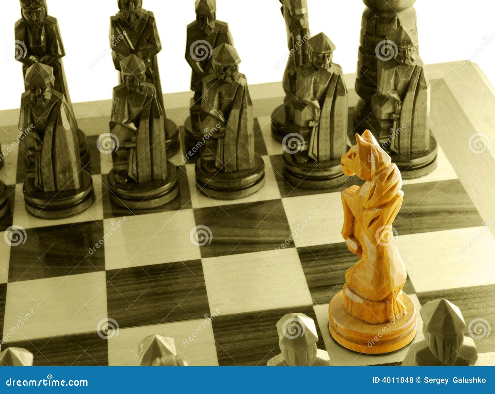 Cavalo original da xadrez. Download preview