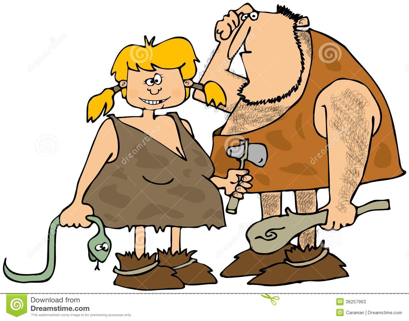 Caveman Wife : Cartoon caveman holding club pics stock photos all sites
