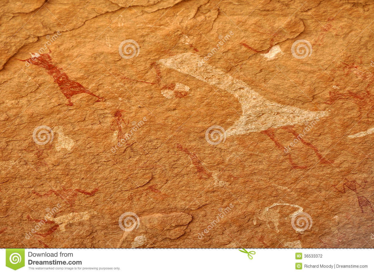 Cave Painting of Dancer