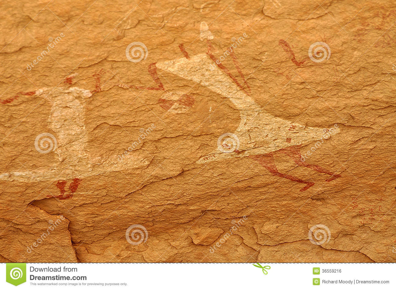 Cave Painting of Dancers